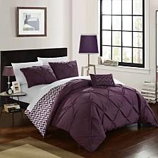 Chic Home Jacky 4-Pc Full/Queen Comforter Set