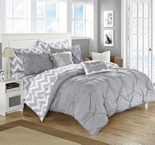 Chic Home Louisville 7-Pc Twin X-Long Comforter Set