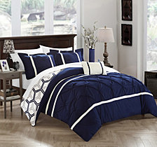 Chic Home Marcia 4-Pc Full/Queen Comforter Set