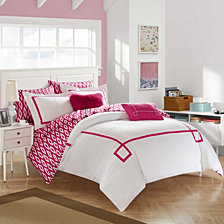 Chic Home Trace 7-Pc Twin X-Long Comforter Set