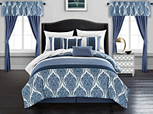 Chic Home Vivaldi 20-Pc Queen Comforter Set