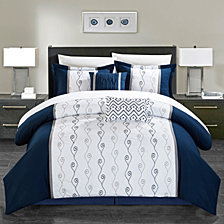 Chic Home Priston 6-Pc King Comforter Set