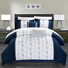 Chic Home Priston 6-Pc King Comforter Set