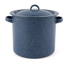 CLOSEOUT! Thirstystone  Blue Speckle Stock Pot with Lid
