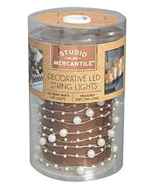 LED Micro Pearls 10ft String Lights