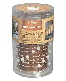 Studio Mercantile LED Micro Pearls 10ft String Lights
