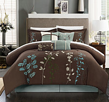Chic Home Bliss Garden 12-Pc Queen Comforter Set