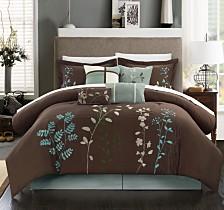 Chic Home Bliss Garden 12-Pc Queen Comforter Set