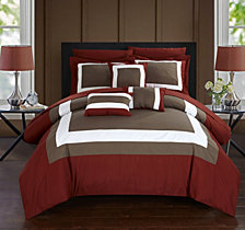 Chic Home Duke 10-Pc Queen Comforter Set