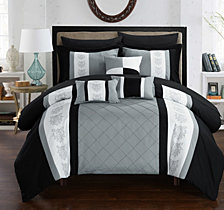 Chic Home Clayton 10-Pc King Comforter Set