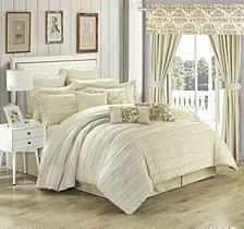 Hailee 24-Pc King Comforter Set
