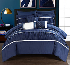Chic Home Cheryl 10-Pc King Comforter Set