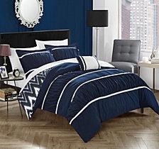 Chic Home Bella 4-Pc Full/Queen Comforter Set
