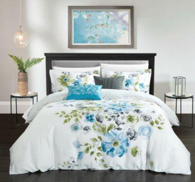 Belleville Garden 5-Pc Queen Comforter Set