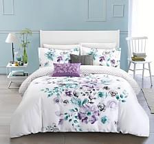 Chic Home Belleville Garden 5-Pc Queen Comforter Set