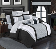Danielle 24-Pc King Comforter Set