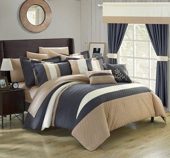 Chic Home Covington 24-Pc King Comforter Set