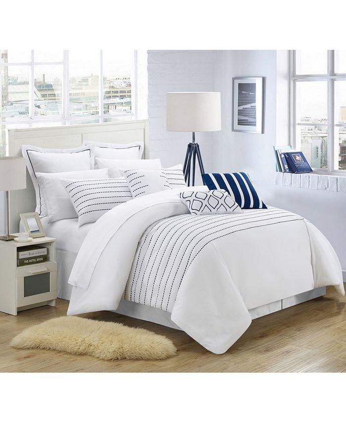 Chic Home - Brenton 9-Pc. King Comforter Set