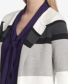 Calvin Klein Colorblocked Sweater Topper