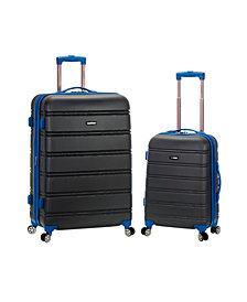 """Rockland 20"""", 28"""" 2Pc Expandable Abs Spinner Set"""