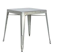 Bella Luna Galvanized Steel Dining Table