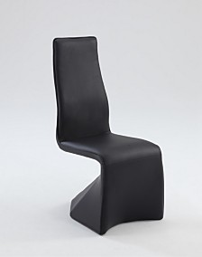Bella Luna Fully Upholstered Contour Back Side Chair