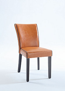 Bella Lunabonded Leather Parsons Chair
