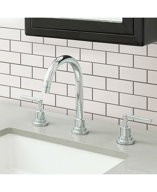 Brewster Home Fashions Subway Peel And Stick Backsplash Tiles
