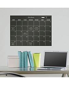 Black Matte Monthly Calendar Decal
