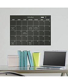 Black Matte Monthly Calendar Decal