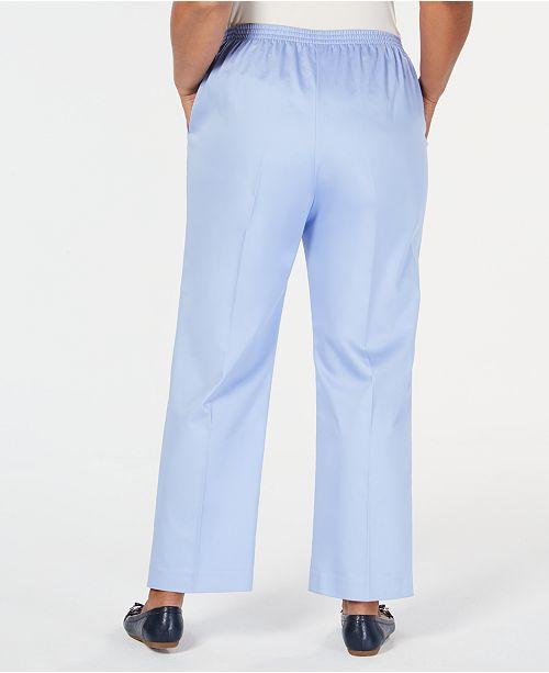 314198b1ed3 Alfred Dunner Turtle Cove Plus Size Pull-On Pants   Reviews - Pants ...