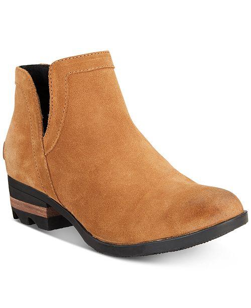 53039123ba41e Sorel Women s Lolla Cut Out Waterproof Booties   Reviews - Boots ...
