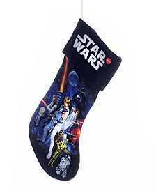 Kurt Adler 19-inch Battery-Operated Star Wars Light-Up Stocking