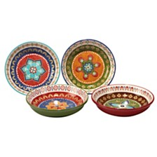 Certified International Monterrey 4-Pc. Soup/Pasta Bowl