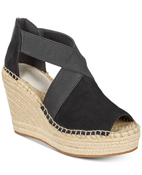 66365c41994 Kenneth Cole New York Women s Olivia Stretch Wedge Sandals ...