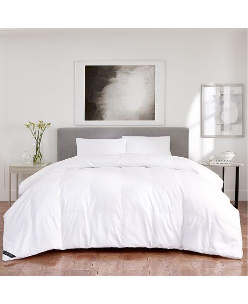 J Queen New York Regency Sateen 300 Thread Count Cotton Allergen Barrier Down Alternative Comforter Collection