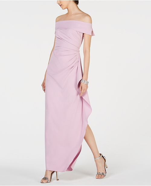 654ab8e0ffc1 Vince Camuto Ruffled Off-The-Shoulder Gown & Reviews - Dresses ...