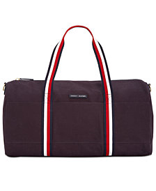 Tommy Hilfiger TH Flag Canvas Duffel Bag