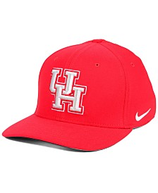 Nike Houston Cougars Classic Swoosh Stretch Fitted Cap