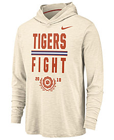 Nike Men's Clemson Tigers Rivalry Long Sleeve Hooded T-Shirt
