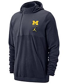 Jordan Men's Michigan Wolverines Therma Sphere Max Jacket