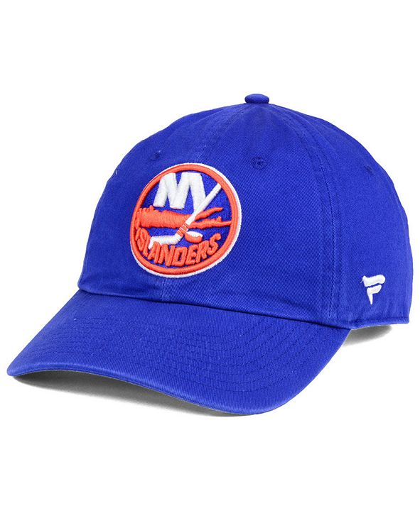 Authentic NHL Headwear New York Islanders Fan Relaxed Adjustable Strapback Cap