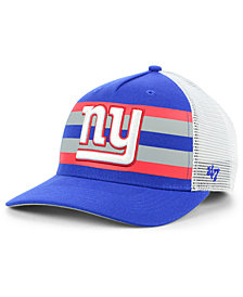 '47 Brand New York Giants Team Stripe MVP Cap