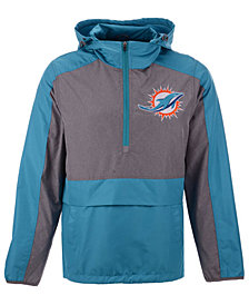G-III Sports Men's Miami Dolphins Leadoff Lightweight Jacket