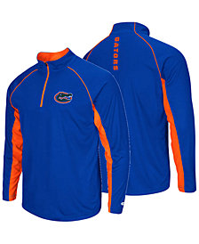 Colosseum Men's Florida Gators Rival Quarter-Zip Pullover