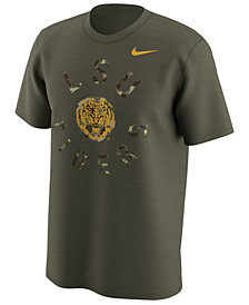 Nike Men's LSU Tigers Camo Legend Logo T-Shirt