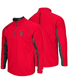 Colosseum Men's Texas Tech Red Raiders Rival Quarter-Zip Pullover