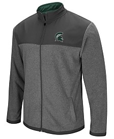Colosseum Men's Michigan State Spartans Full-Zip Fleece Jacket