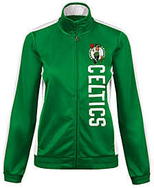G-III Sports Women's Boston Celtics Backfield Track Jacket