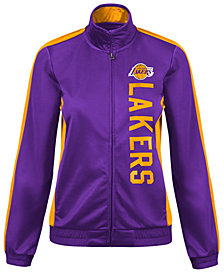 G-III Sports Women's Los Angeles Lakers Backfield Track Jacket